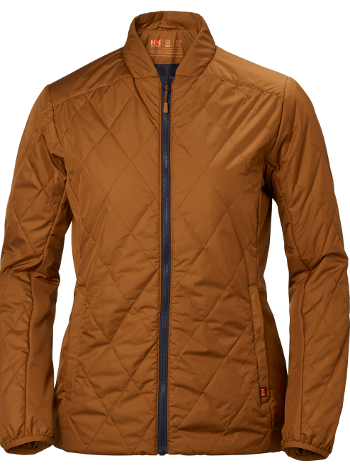 Helly Hansen W POWDERQUEEN INSULATOR JACKET GRAPHITE