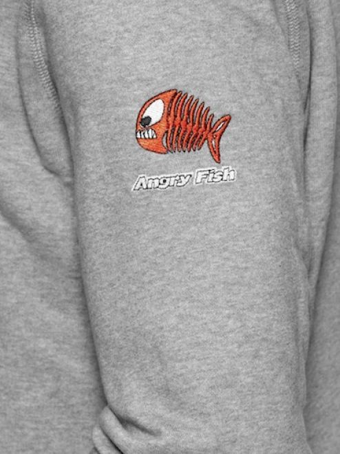 Angry Fish Chaser Hoodie