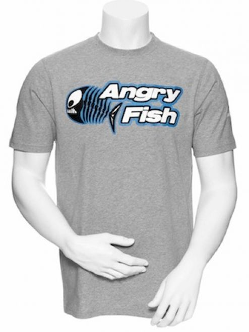 Angry Fish Square Tee
